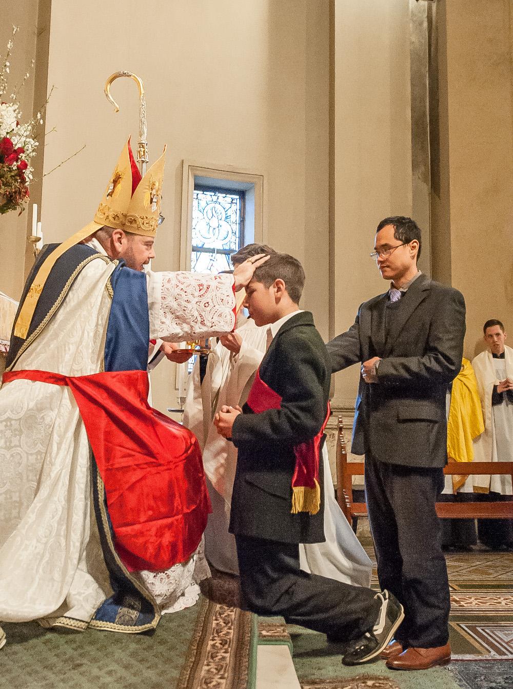 Confirmation of Aloysius
